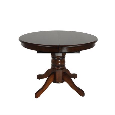 Τραπέζι Καρυδί Φ101 X 75 εκ