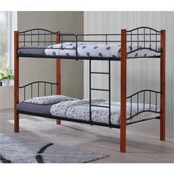 Κρεβάτι - Κουκέτα μέταλλο ξύλο