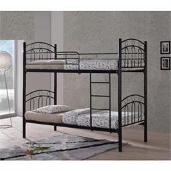 Κρεβάτι - Κουκέτα μαύρο μέταλλο