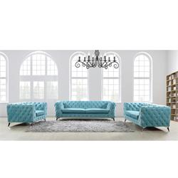 Living room set powder blue