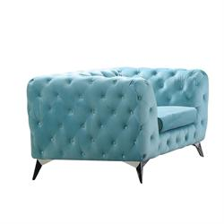 Armchair powder blue