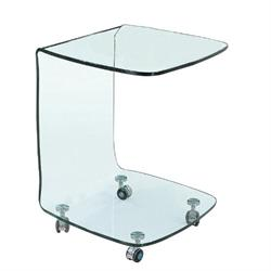Trolley glass 10mm tempered