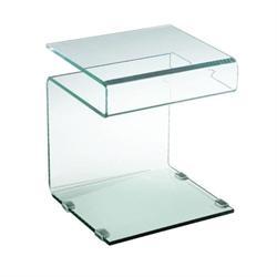 Βοηθητικό τραπεζάκι γυαλί 12μμ