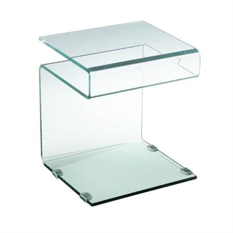 Side table glass 12mm