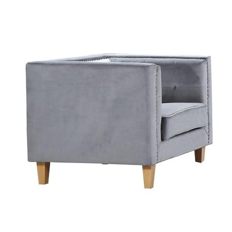 Armchair light grey