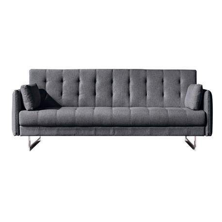 Sofa-bed dark grey
