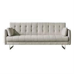 Καναπές -κρεβάτι ύφασμα sand