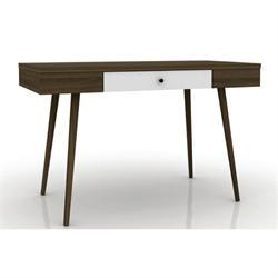 Table-console walnut-white