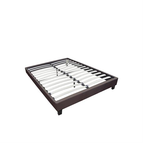 Substrate bed /dark brown 167X211X29cm