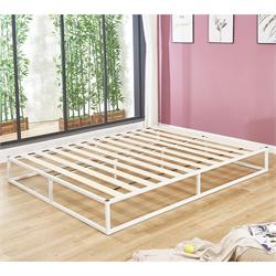 Substrate bed /steel white 160X200X24 cm