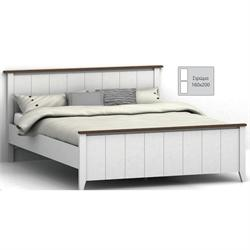Bed white-walnut