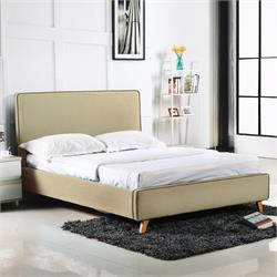 Bed fabric dark beige 171X216 cm