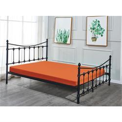Bed metal black 158X210 cm