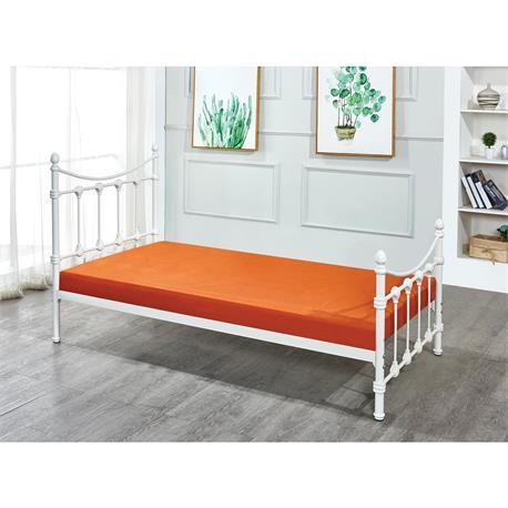 Bed metal white 98X200 cm