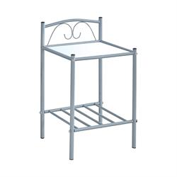 Bedside metal grey 40X40