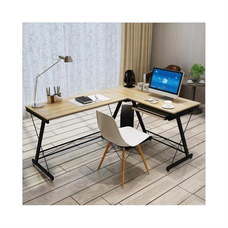 PC Desk corner maple 110/120Χ48