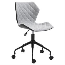 Office chair light grey 48Χ50