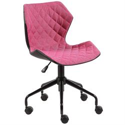 Office chair fucshia 48Χ50
