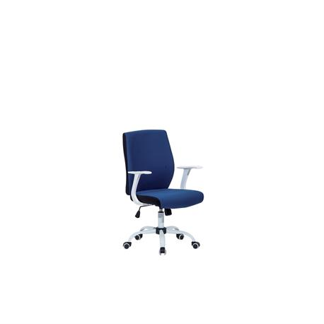 Office chair whith arms blue 61Χ57