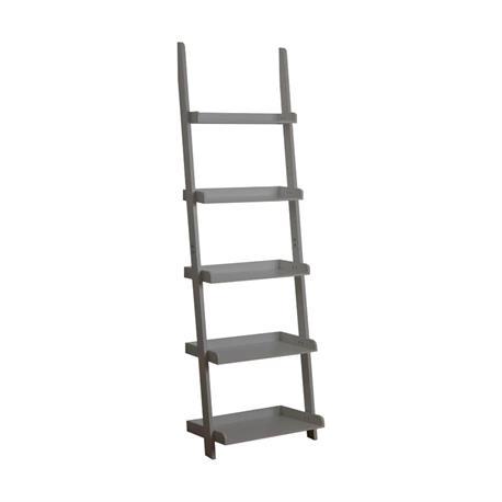 Bookcase grey 56X32X189 cm