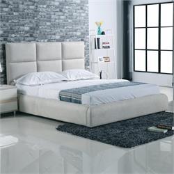 Bed fabric grey stone 183X220 cm