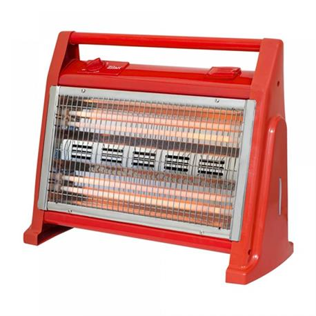 Quartz heater with humidifier