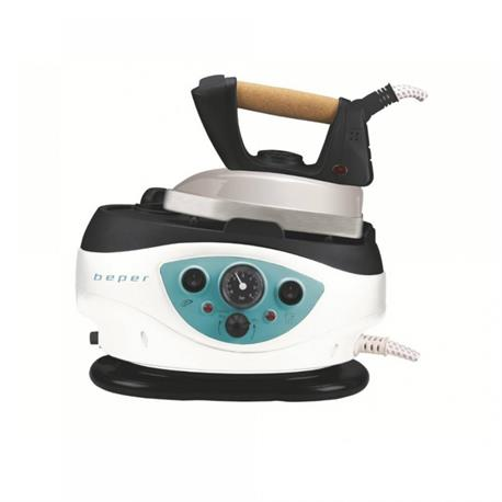 Ironing system with pressure indicator