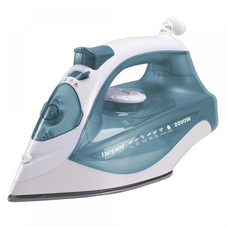 Steam iron with ceramic plate 2200W