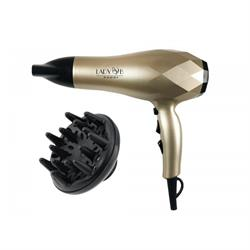 Hair dryer with ionization system