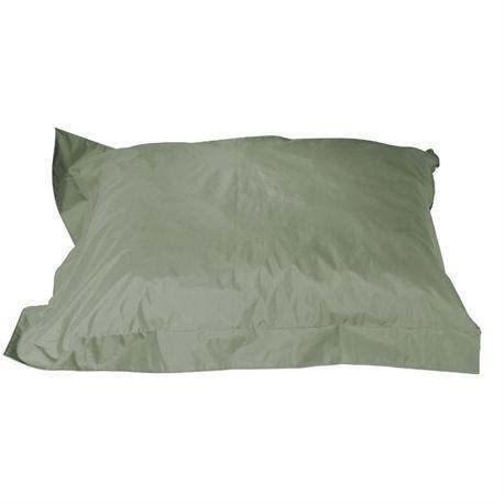 Cushion pouf fabric dark grey