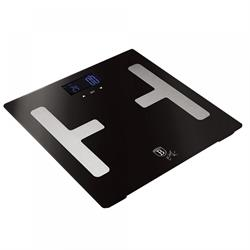 Bath Scales with Fat Calculation Black Silver