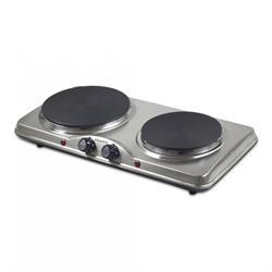 Electric Double Hob 1500W