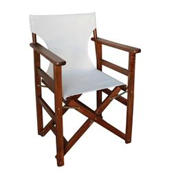 Directors folding armchair walnut