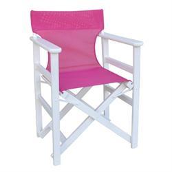 Directors folding armchair White
