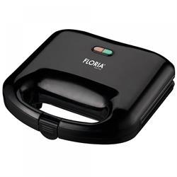 2-seater toaster black 750W