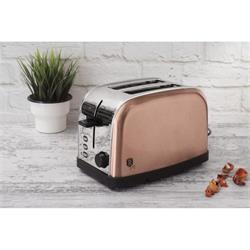Stainless Steel Toaster Rose Gold