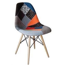 Καρέκλα ΡΡ- ύφασμα patchwork
