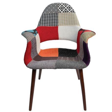 Πολυθρόνα ΡΡ-ύφασμα patchwork