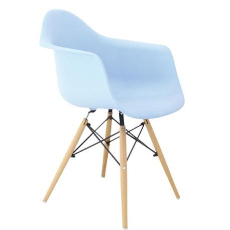 Armchair light blue PP