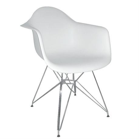 Armchair white PP