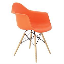 Πολυθρόνα πορτοκαλί ΡΡ