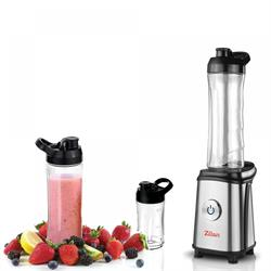 Blender with 3 mixing containers