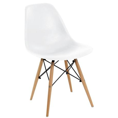 Chair grain white PP