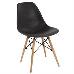 Καρέκλα grain μαύρο ΡΡ