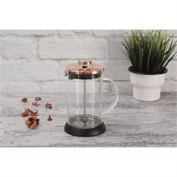 Coffee maker for French coffee - teapot 600ml Rose Gold