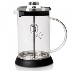 Coffee maker for French coffee - teapot 800ml Black Silver