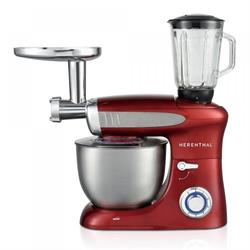 Table Mixer Food Processor 1900W Max Red