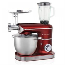 Table Mixer Food Processor 2200W Max Red