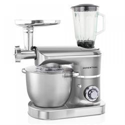 Table Mixer Food Processor 2200W Max silver