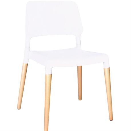 Καρέκλα λευκό ΡΡ